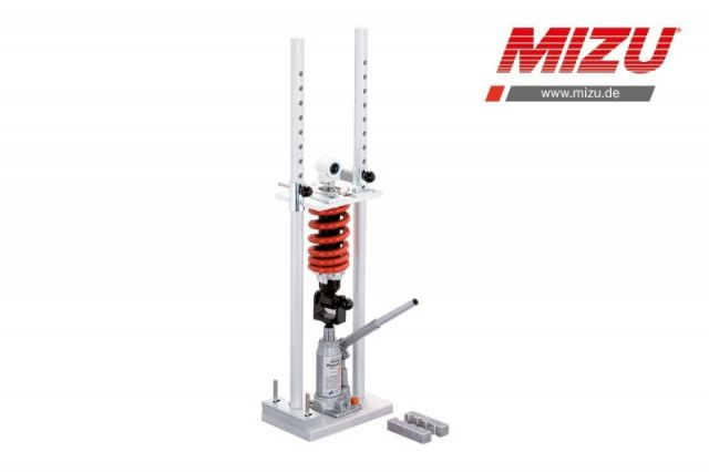 Compresor de muelles con adaptadores